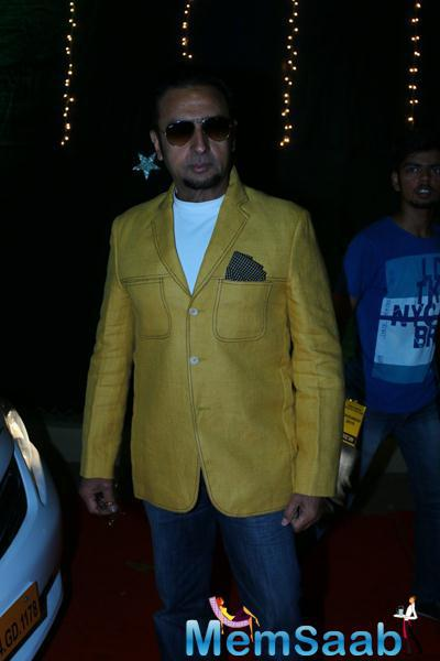 Gulshan Grover Arrived To Attend The Baisakhi 2015 Celebrations