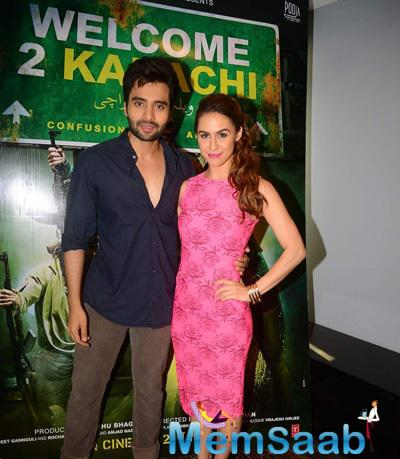 Jackky Bhagnani And Lauren Gottlieb Promoted Their Upcoming Flick Welcome To Karachi
