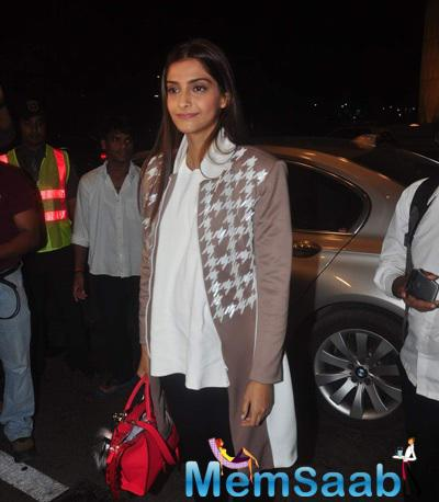 Sonam Will Make Her Red Carpet Appearance As The Brand Ambassador Of L'Oreal Paris At The Cannes