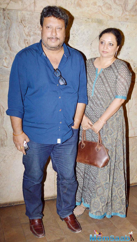 Tigmanshu Dhulia Graced At The Screening Of Tanu Weds Manu Returns