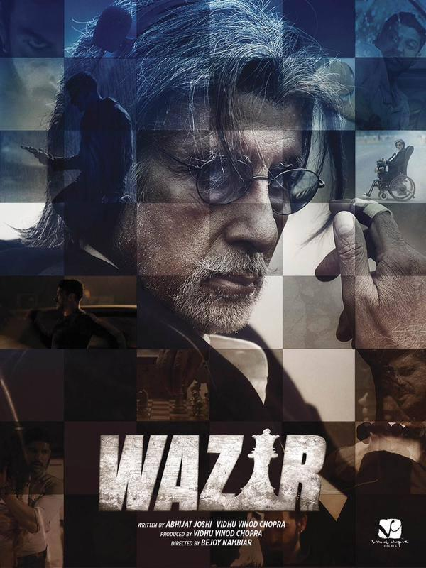Amitabh Bachchan Amazing Look Photo In Wazir Movie First Look Poster