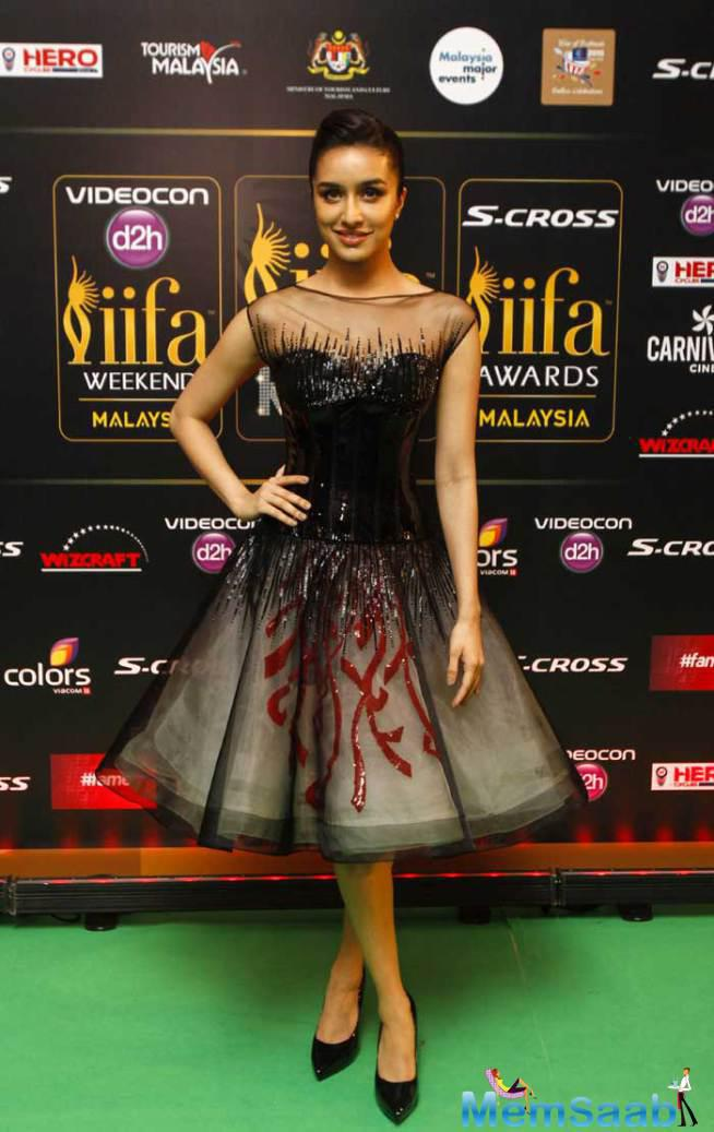 Shraddha Kapoor Looked Gorgeous As Ever In An Embellished Georges Chakra Dress