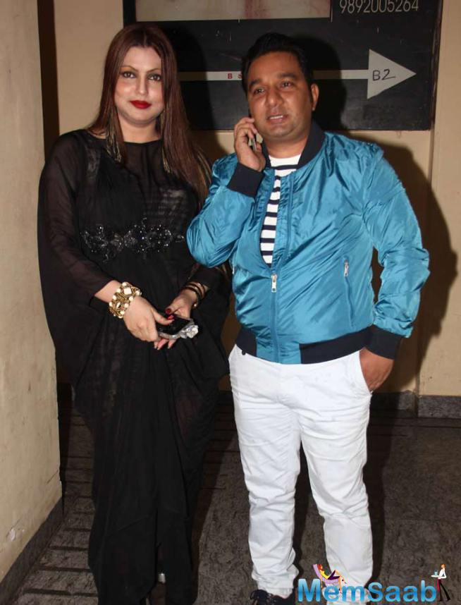 Choreographer-Director Ahmed Khan Arrived With His Wife At ABCD 2 Special Screening