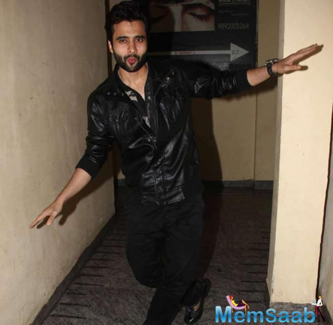 Jackky Bhagnani Seemed All Set To Dance During The ABCD 2 Special Screening