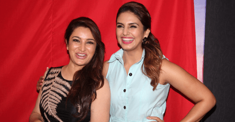 Huma Qureshi And Tisca Chopra Attended The Music Launch Of The Marathi Film Highway