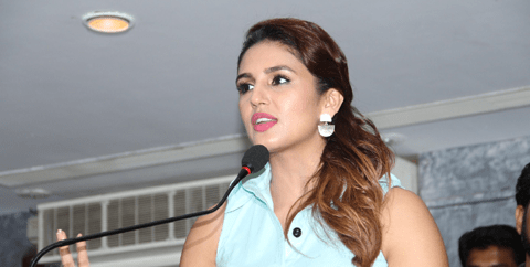 Huma Qureshi And Tisca Chopra Signed Marathi Movie Highway
