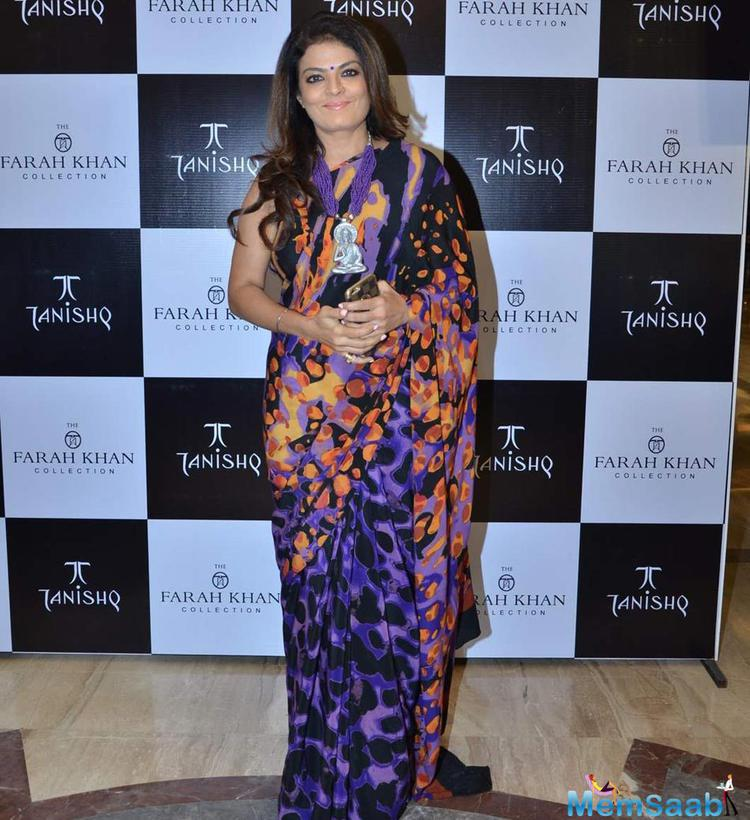 Sheeba Attend Farah Khan Ali's New Collection Launch With Tanishq