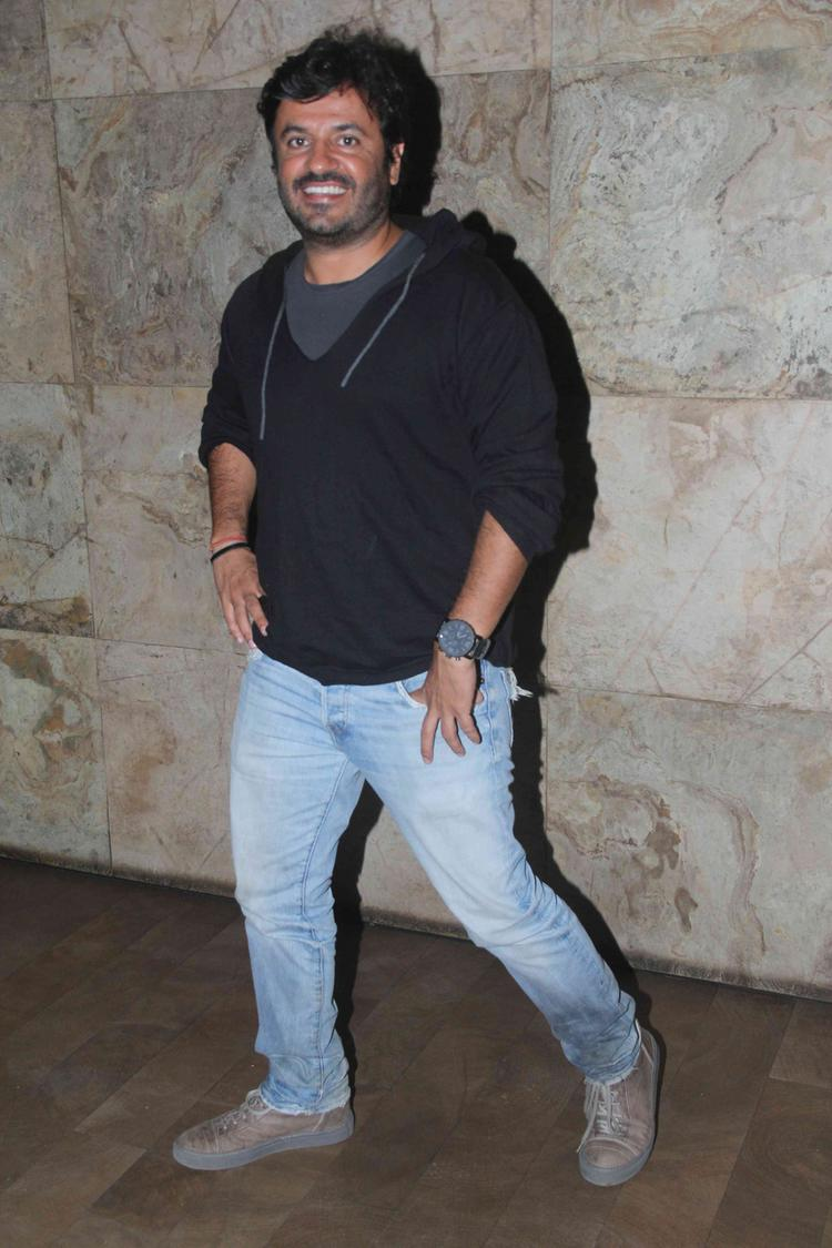 Vikas Bahl Cool Smiling Look At The Brothers Movie Special Screening