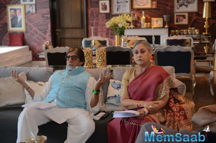 Big B And Jaya Bachchan Shoot For Ki And Ka