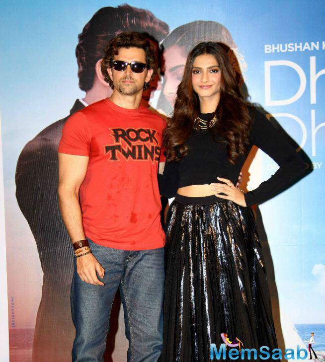 Hrithik And Sonam Unveil Dheere Dheere Music Launch Event