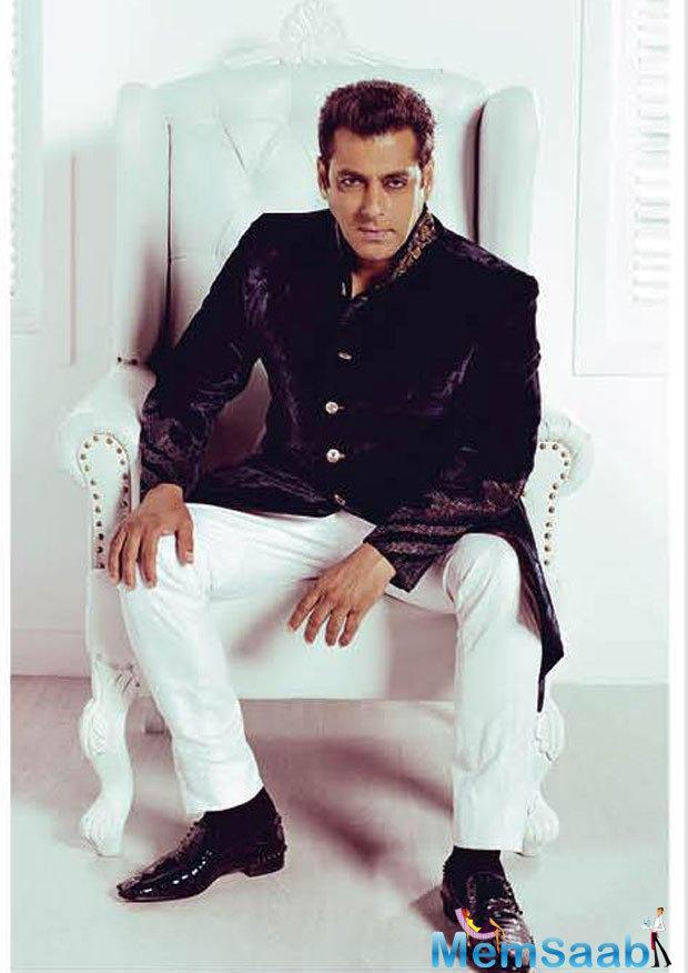 Salman Khan Breathtaking Handsome Look For Harper's Bazaar Bride 2015
