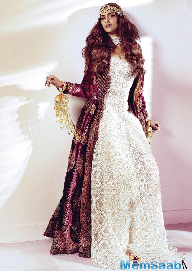Sonam Kapoor Scorching Magazine Cover Shoot