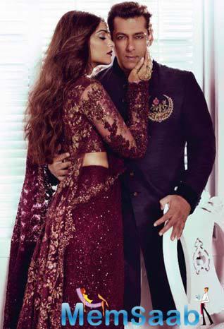 Salman And Sonam Latest Photoshoot For Harper Bazzar Magazine