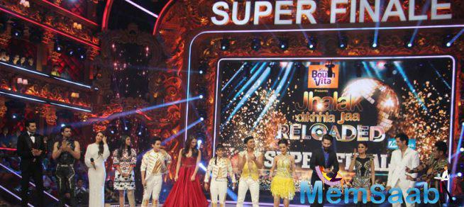 Judges Share The Stage With The 'Jhalak Dikhhla Jaa Reloaded' Finalists