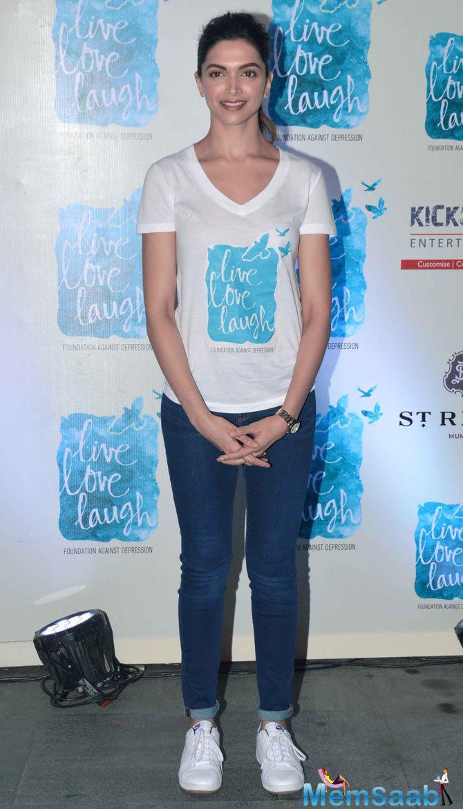 Deepika Padukone Opted To Launch Her NGO Live Love Laugh On The World Mental Health Day