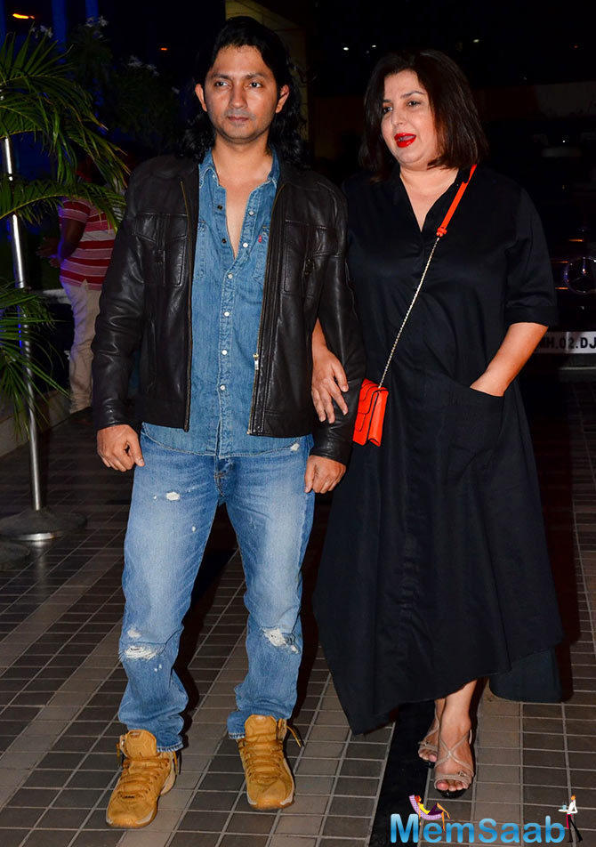 Birthday Boy's Sis Farah With Her Hubby Graced At Birthday Party