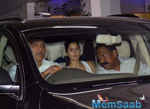 Kat Was Spotted Outside Of Theater For Tamasha Screening