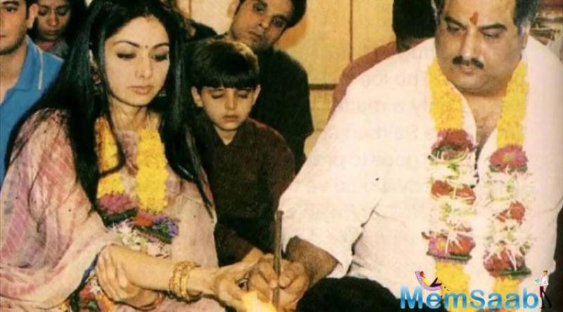 Boney Kapoor and Sridevi didn't have a fairytale union. Their love story started out as an affair, which later lead to an unplanned pregnancy and finally a wedding in the year 1996 when Kapoor was 40.
