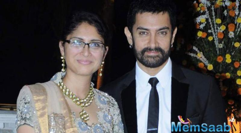 Three years after ending his first marriage Gajni star Aamir Khan married director Kiran Rao in a hush-hush ceremony. The actor was 45 at the time.