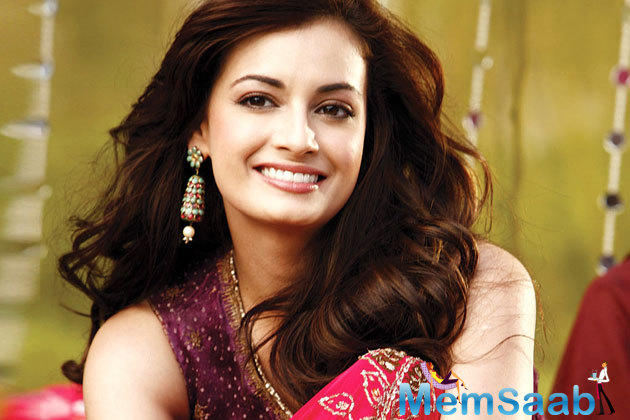 Dia Mirza will soon be seen in an Indo-Iranian film titled Salaam Mumbai, and she has been getting a batch of lovemaking from the people of Iran.