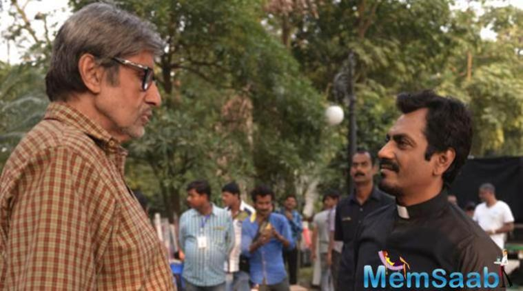 No One Killed Jessica and TE3N, which also features  Amitabh Bachchan and actor Nawazuddin Siddiqui.
