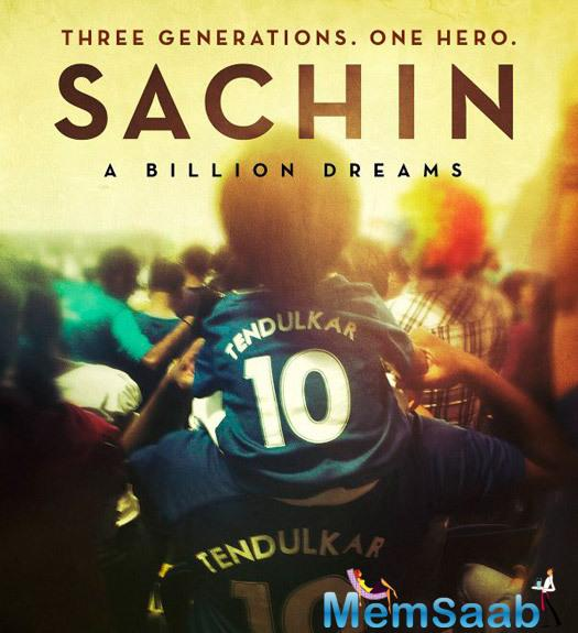 A biopic on the god of cricket, Sachin A Billion Dreams, is soon coming in theaters and its teaser poster was released for those billion fans of the little master.
