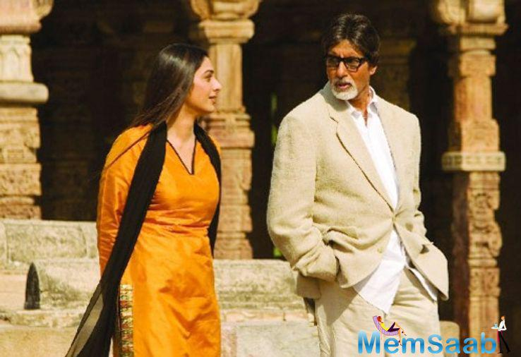 R. Balki is one filmmaker who just can't get enough of Big B. All his movies have been centred around the Amitabh Bachchan.