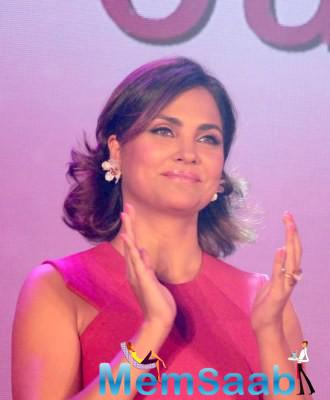 Lara Dutta , who is the part of former cricketer Mohammad Azharuddin biopic, said some good things about him during a Fair & Lovely Foundation programme in Mumbai
