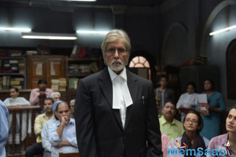 Amitabh Bachchan wrote on his Blog, the relish with which films are made is a film by itself .. working on the final days of 'PINK' is a delight and a nightmare simultaneously and not necessarily in that order .. hehaha ..