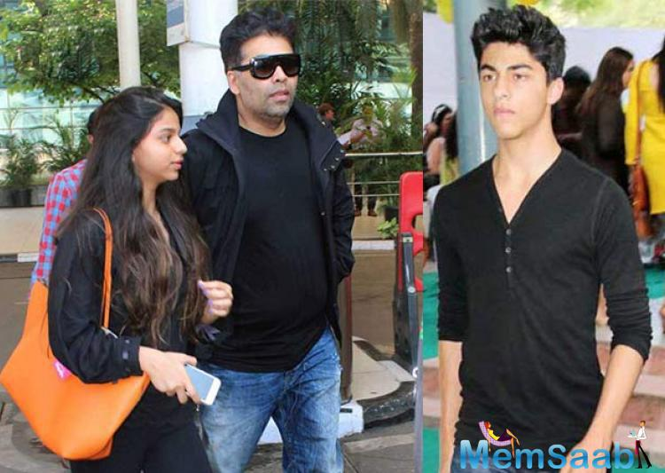 Aryan has to study now, its depend on Aryan what he wishes to do in future. If he wants to enter in Bollywood, I will launch him, but after complete his Studies. KJo said in a statement.