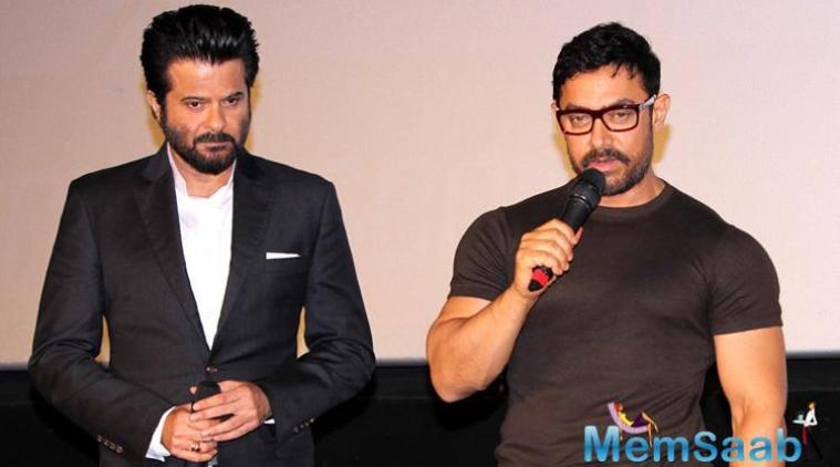 """Aamir Khan has always been a leader and inspiration. He is younger than me and sometimes you learn from them,"""" Anil told reporters at the trailer launch of 24."""