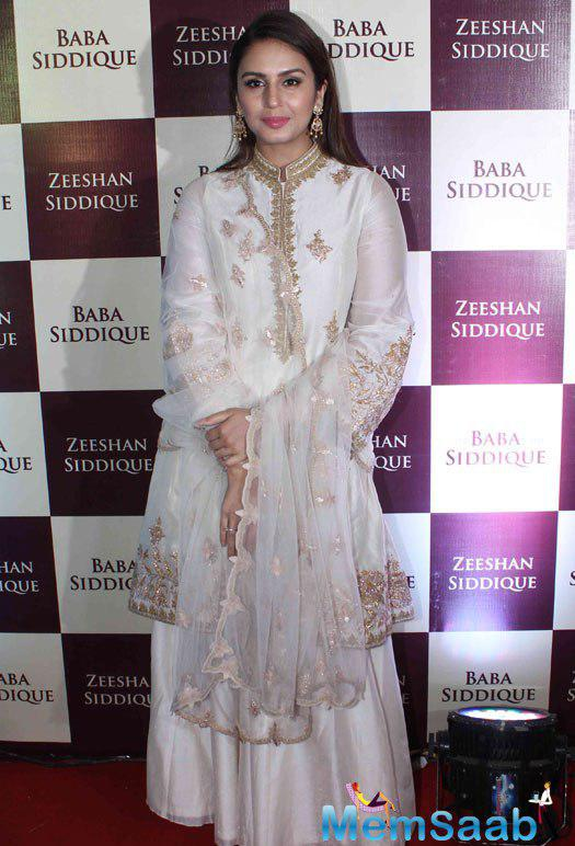 Like every year, Baba Siddiqui's Iftar party was a star-studded affair this time too, Huma Qureshi during the Baba Siddique's Iftar Party