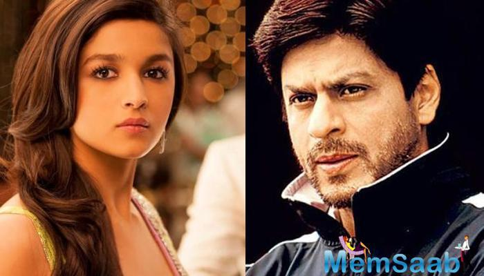 A report from the source only Shah Rukh Khan who plays Alia's therapist, who goes on to become her inspiration, wasn't the part of the party song