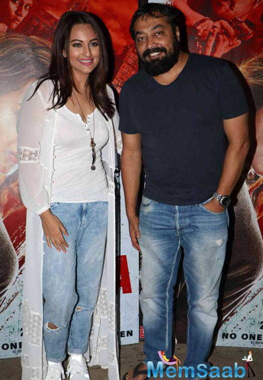 Akira, which also stars Konkona Sen Sharma, Amit Sadh, Atul Kulkarni and others, is all set to hit the theatres tomorrow.