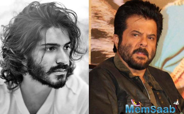 I feel that he is more hardworking than me, which is very surprising because people often tell me that no one can be more hardworking than me. It is a great pride that today my son Harshvardhan Kapoor is here.