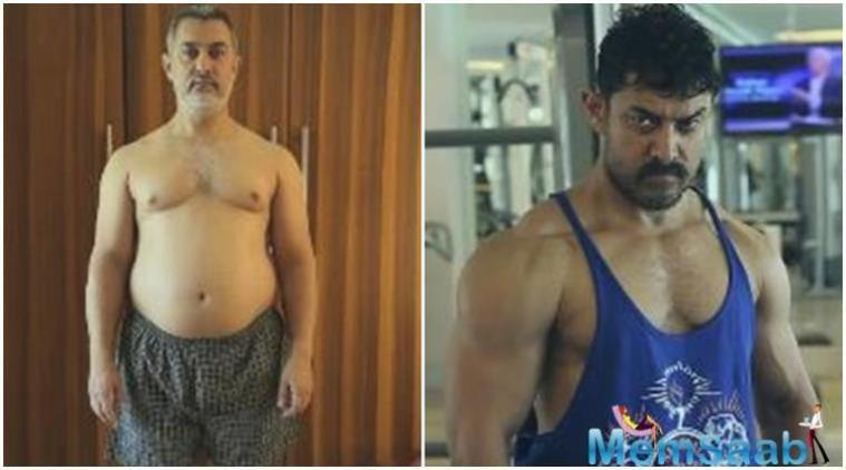 Aamir gained weight for the film and then eventually lost all the weight to be back to his original body type. From workout to a change in diet, Aamir did everything and finally achieved.