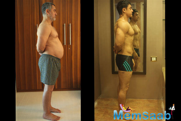 Here, the makers of Dangal launched a making video of the film, focusing on Aamir Khan's body transformation for the character of ex wrestler Mahavir Singh Phogat.