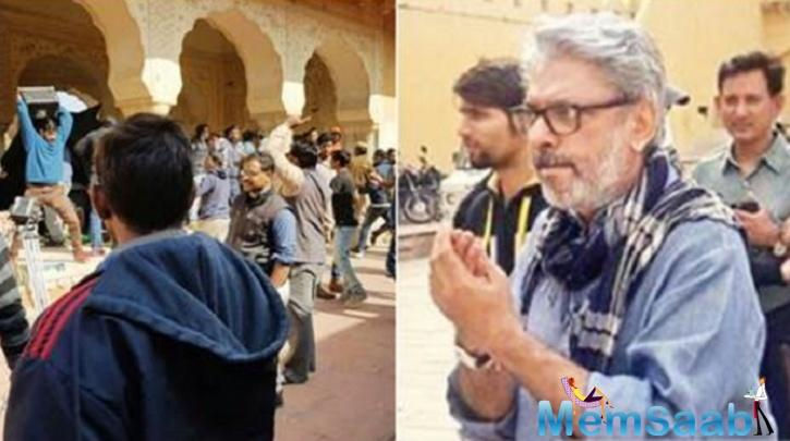 Members of a group called Rajput Karni Sena on Friday slapped Bhansali and pulled him by his hair on the sets of the film at Jaigarh Fort.