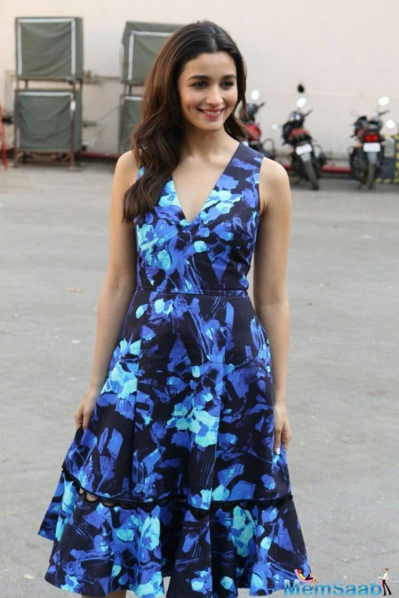 Alia also spoke about her preference for spontaneity when co-star Varun Dhawan revealed that the Alia doesn't like too many rehearsals for a scene.