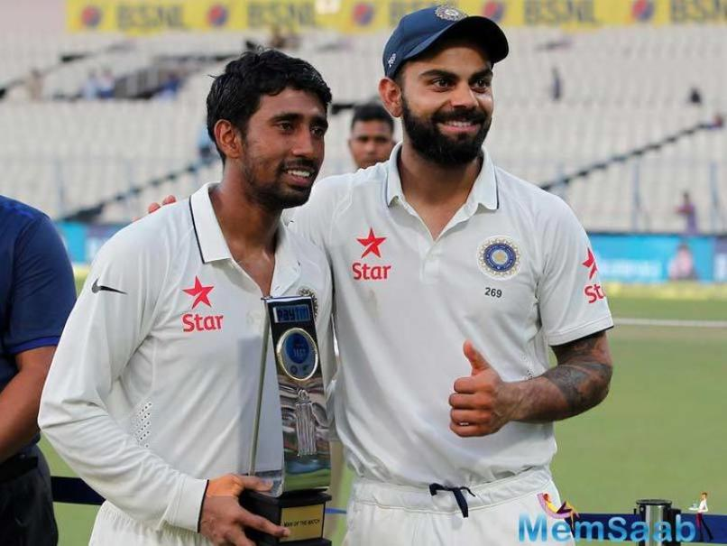 Kohli described Cheteshwar Pujara as priceless and also hailed Wriddhiman Saha and Ravindra Jadeja in equal measure as the trio put them in a winning position.