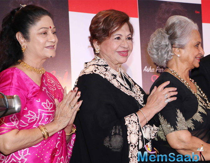 He was speaking during the launch of Asha Parekh's biography 'The Hit Girl' in Bandra last night.