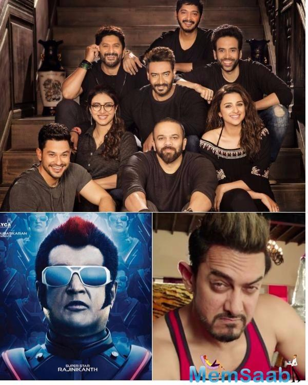 Now, it will be interesting to watch three big clashes at the box-office during this Diwali as all three movies cater to a different kind of audience.