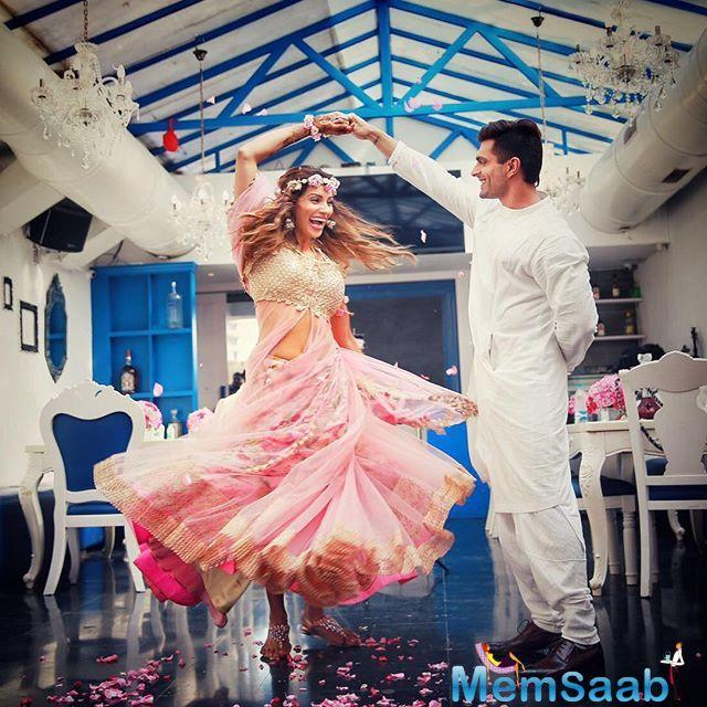 Bipasha Basu, who has completed one year of marital bliss with Karan Singh Grover, says that the actor has everything that she desired in her mate and he is like a twin soul.
