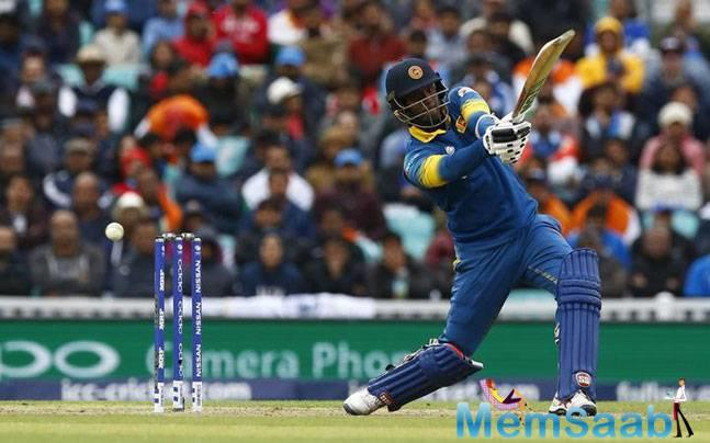 Sri Lanka won by 7 wkts over India,  With this win, Sri Lanka kept themselves alive in the tournament overhauling India's total of 321 for six with seven wickets in hand and eight balls remaining.