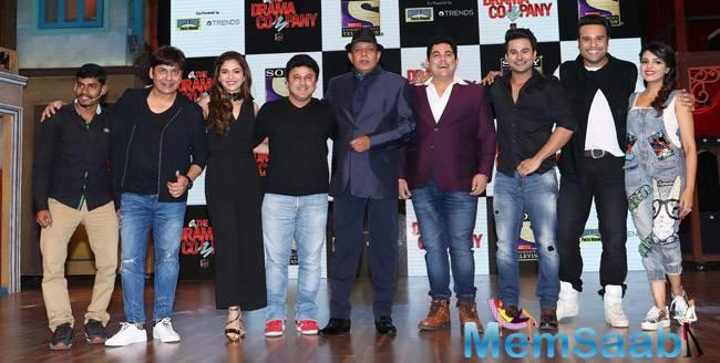 During new show The Drama Company launch event, Mithun, who also has the part of the show, asked about the  comparison between the two shows.