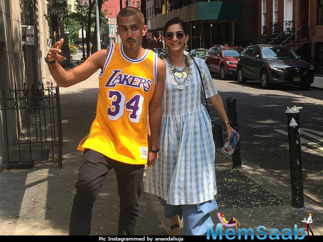 Sonam Kapoor and Anand Ahuja's growing closeness is starkly visible on social media. The duo is often seen professing their love for each other in the best possible ways.
