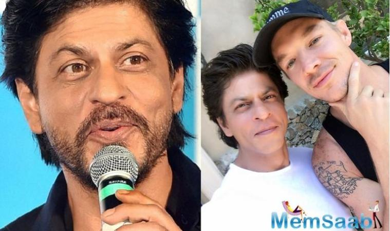 SRK dropped a surprise announcement on Sunday stating that he will be collaborating with Grammy winning DJ Diplo for a song 'Phurrr'.
