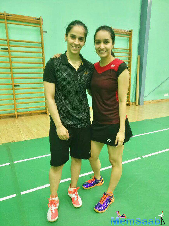 Meanwhile, Saina too expressed her excitement after she came to know that 'her good friend' Shraddha will be playing her character in the biopic.