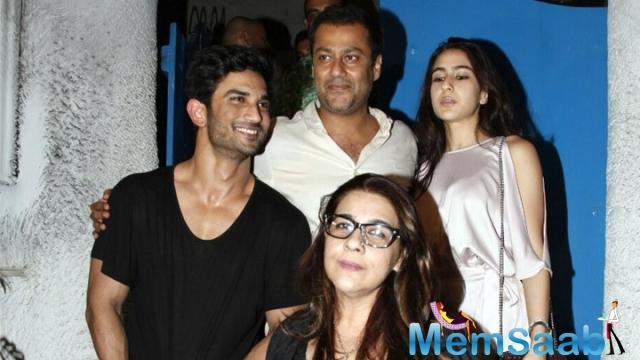 Sara Ali Khan is starting her Bollywood career with Abhishek Kapoor directorial Kedarnath, currently they are shooting for the film.