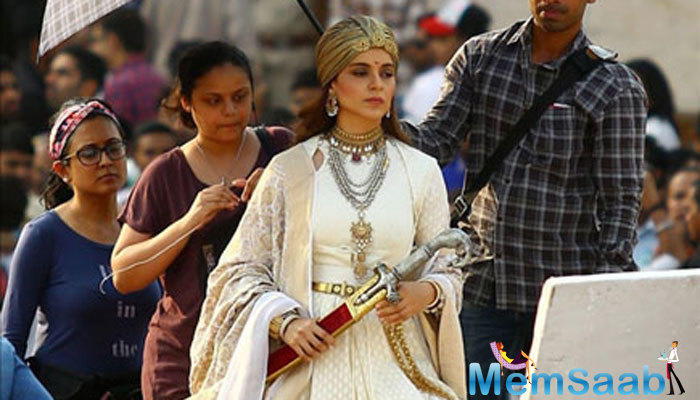 Kangana Ranaut's Manikarnika - The Queen Of Jhansi, is being led by Krish, a Telugu filmmaker.